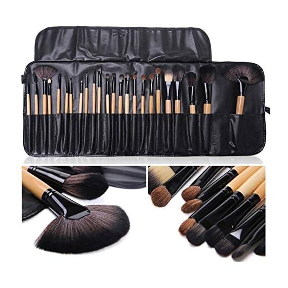 SHIVEXIM Cosmetic Makeup Brush,Set of 24 Pieces