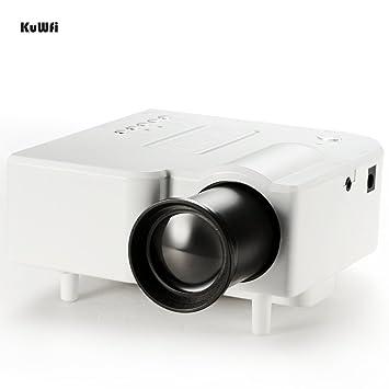 KuWFi Mini Proyector Digital Multimedia LCD Proyector ...