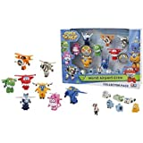 super wings world airport crew 8 personaggi jumbo e 6 accessori set giochi preziosi
