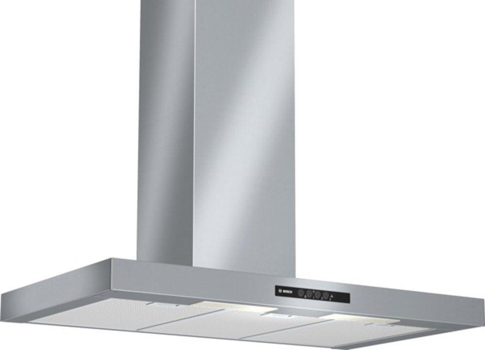 Bosch DWB09W652 - Campana (Recirculación, 650 m³/h, 68 Db, Montado en pared, Halógeno, Acero inoxidable): Amazon.es: Grandes electrodomésticos