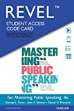 REVEL for Mastering Public Speaking -- Access Card (9th Edition)