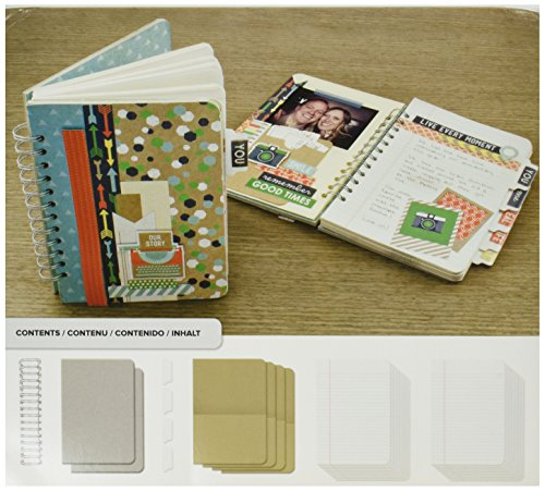 Memory Keepers Paper Kits - We R Memory Keepers Cinch Kit Journal