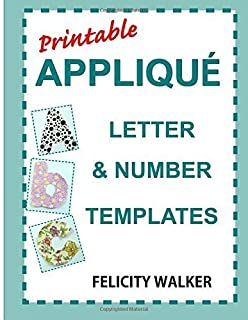 Printable applique letter number templates alphabet patterns printable applique letter number templates alphabet patterns with uppercase and lowercase letters numbers pronofoot35fo Image collections