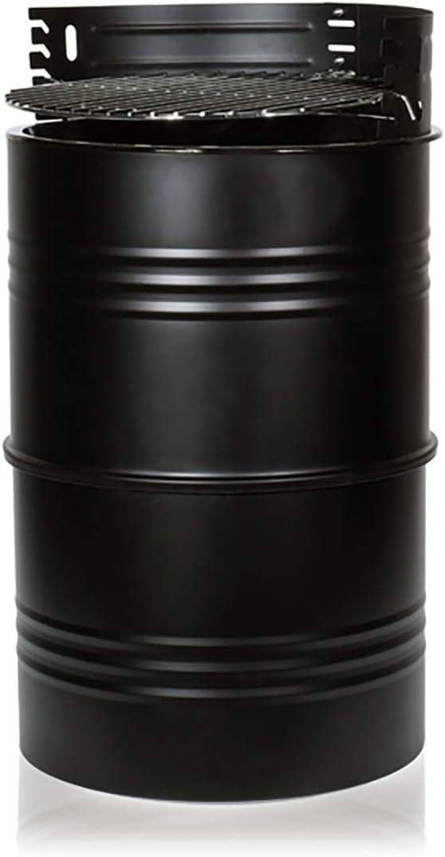 BigBuy BBQ Barbacoa de Carbon Barril BBQ Talla /única