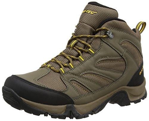 Men's Tec Hi Smokey High Brown Boots Hiking Rise Gold Taupe Pioneer E14Cw4q