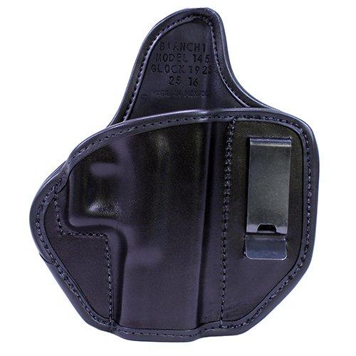 26756 Bianchi, 145 Allusion Subdue IWB Holster, Glock 19, 23, 32, Right Hand, Black