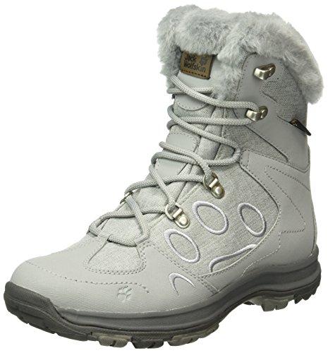 Jack Wolfskin Damen Thunder Bay Texapore Mid W Trekking-& Wanderstiefel, Grau (Alloy 6038), 38 EU