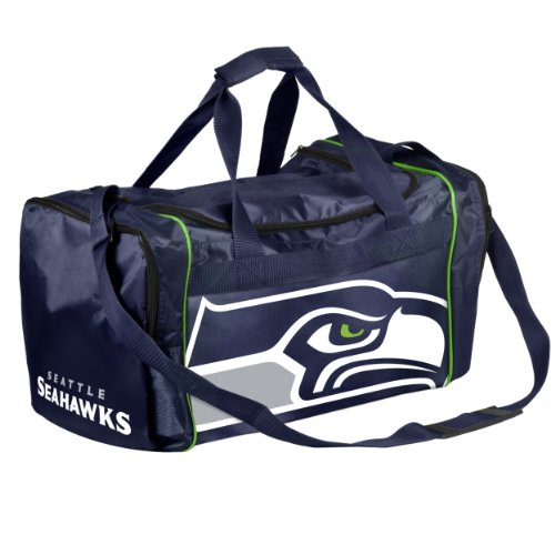 Forever Collectibles NFL Seattle Seahawks Core Duffle Bag by Forever Collectibles
