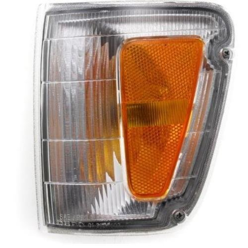 DAT AUTO PARTS Front Parking Light Assembly Replacement for 93-98 Toyota T100 Pickup Corner of Fender Left Driver Side TO2520140