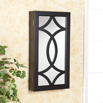 SEI Fiorella Wall Mount Jewelry Mirror
