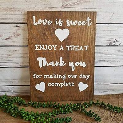 Amazon.com: Georgia Barnard – caramelo de mesa para boda ...