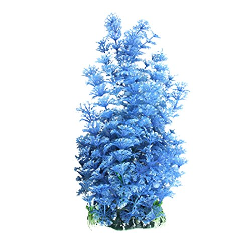 Uxcell Plastic Aquarium Plant Decorative