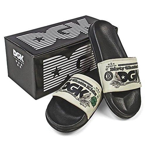 Slide Slippers Men's Currency DGK Black g1tEqH