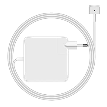 Netzter 45w MacBook Air Cargador Adaptador de corriente alterna de repuesto Cargador Mag Safe 2 Compatible con MacBook Air 11 13 pulgadas desde el ...