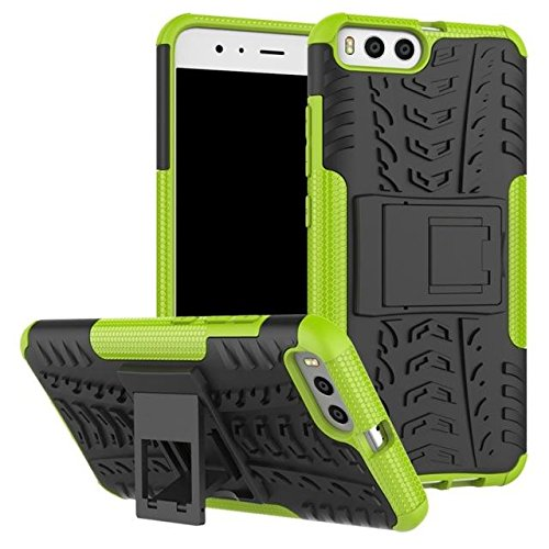 La caja del teléfono 2-en-1 pata de cabra PC + TPU híbrido Mobile Shell para Xiaomi Mi 6 green
