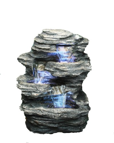 Hi-Line Gift Ltd Rock 4-Level Fountain by Hi-Line Gift Ltd.