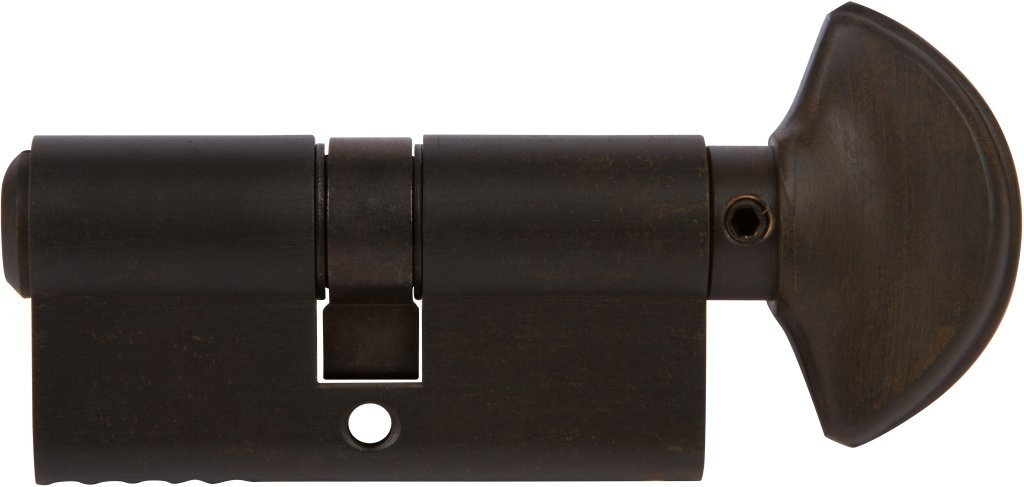 Rockwell 360 degree Solid Brass Euro profile Cylinder in Oil Rubbed Bronze Finish for 1-3/4'' Thick Door (63mm), Durable commercial & residential, door hardware, door handles, locks by Rockwell