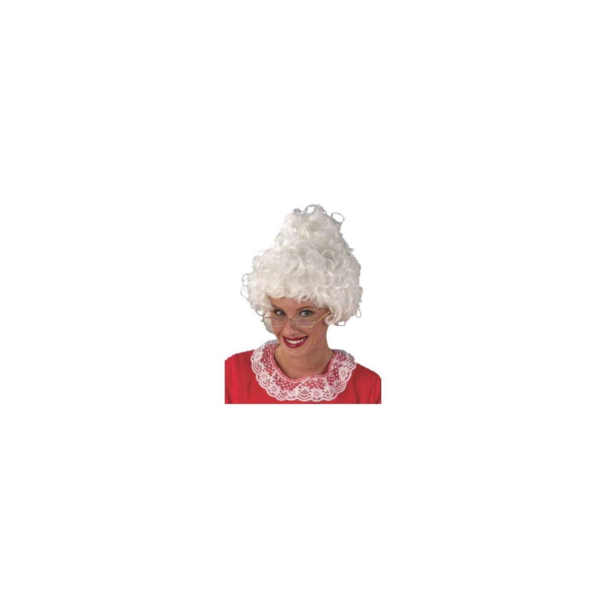 Mrs. Santa Wig Costume Accessory