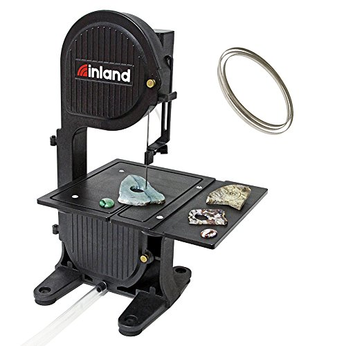 Inland Craft DB-100 Diamond Band Saw | Portable Tabletop Saw | Includes Diamond Band Saw Blade Coral Db Coral