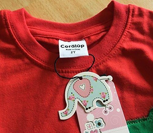 Coralup - Tuta mimetica per bambini, 2 pezzi, in cotone, 18 mesi - 8 anni 3