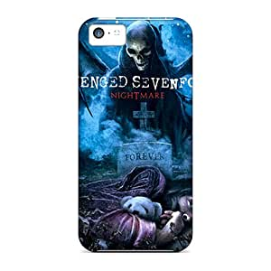 First-class Cases Covers For Iphone 5c Dual Protection Covers Avenged Sevenfold