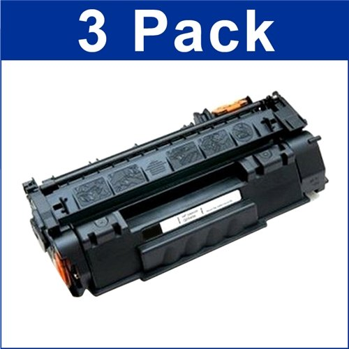 3 Pack Remanufactured Replacement Laser Toner Cartridge for Hewlett Packard Q5949X (HP 49X) High-Yield Black Photo #4