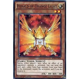 Herald of orange light