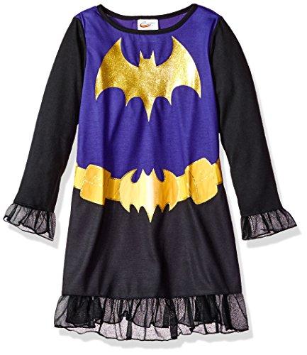 SGI Apparel Girls Little Superhero Night Shirt Costume Pajamas