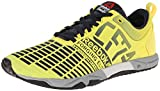 Reebok Women's Crossfit Sprint TR Training Shoe, Stinger Yellow/Reebok Navy/Metallic Silver, 10 M US