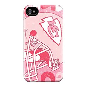 Scratch Protection Hard Phone Covers For Iphone 6 With Unique Design Beautiful Kansas City Chiefs Pattern JasonPelletier