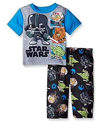 Toddler Boys Star Wars Vader Battles Pajamas
