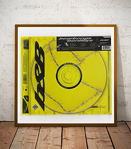 Post Malone Beer Bongs and Bentleys Album Limited Poster Artwork - Professional Wall Art Merchandise (More Sizes Available) (8x8)