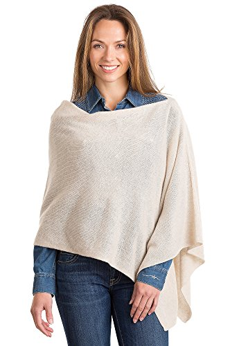 Overland Sheepskin Co Primrose Cashmere Poncho by Overland Sheepskin Co