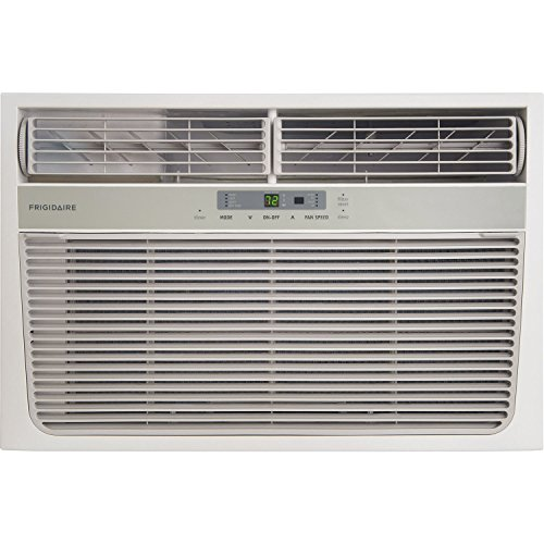 FRIGIDAIRE FFRH11L2R1 11,000 BTU 115V Heat/Cool Window Air Conditioner with Remote Control, White