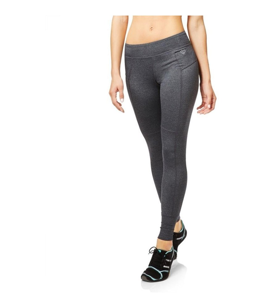Aeropostale Womens Active Legging Athletic Track Pants Grey L/28 - Juniors