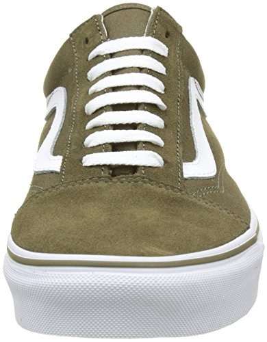 Suede Homme True White Vert Basses Sneakers Olive Canvas Vans Dark qgw1Ix6