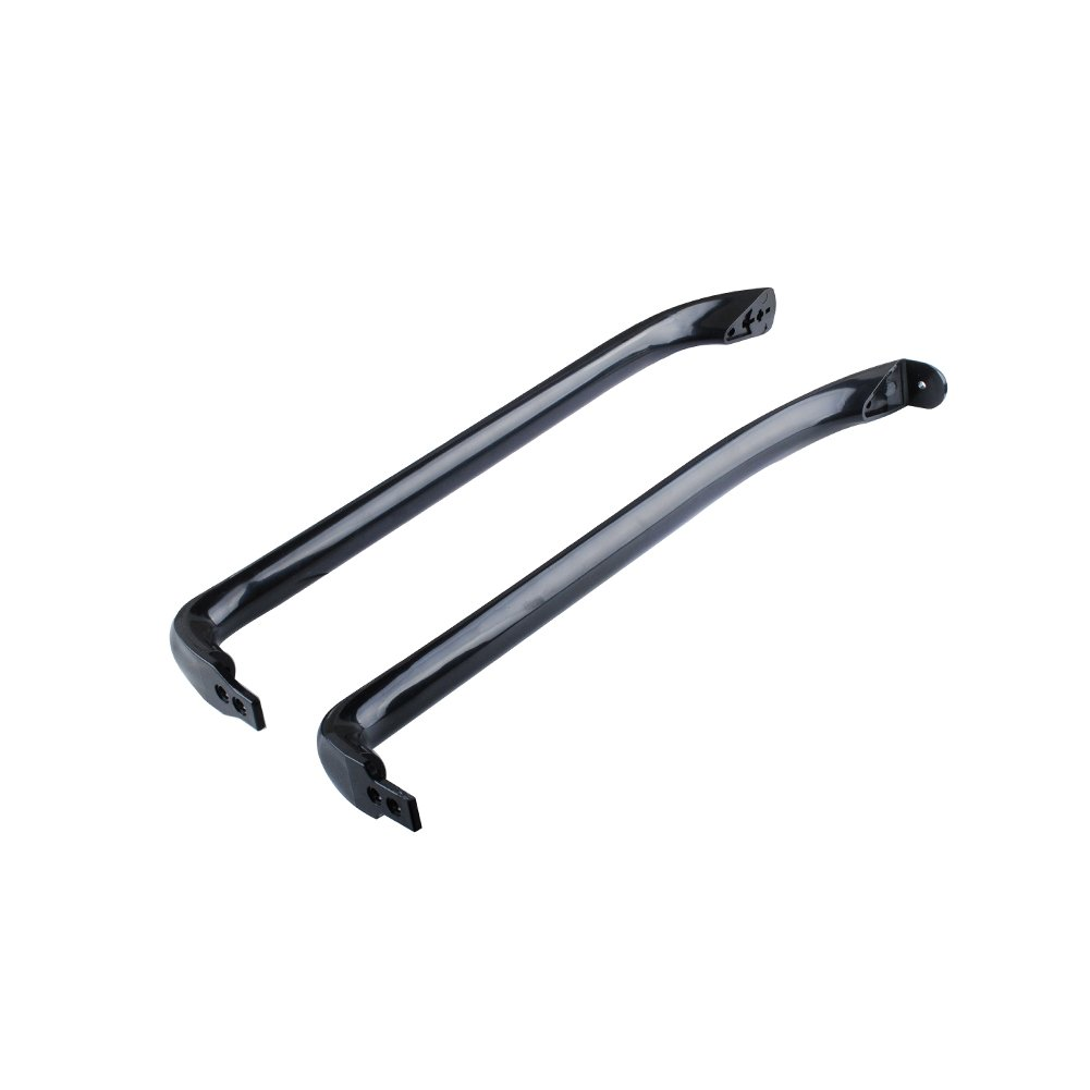 Poweka WR12X22183 PS9494525 Door Handles Kit for General Electric GE Refrigerator WR12X11008 WR12X11009 AP5948588