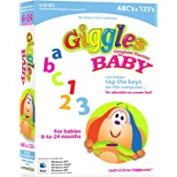 Giggles Computer Funtime For Baby - ABCs & 123'S