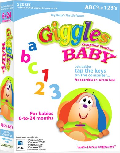 Price comparison product image Giggles Computer Funtime For Baby - ABCs & 123'S