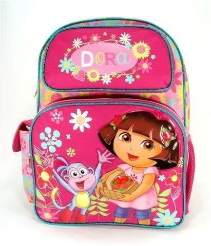 Backpack - Dora the Explorer w/Boots Flower School Boys Bag Licensed 635701   B00K6P5D3S