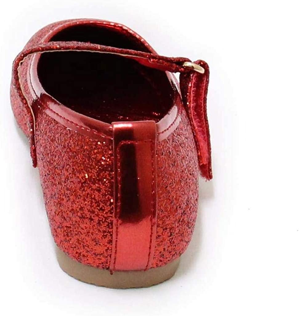 Baby Girl Infant Toddler Mary Jane Flats Soft Sole Glitter Dress Baby Walking Shoes/ Bebe
