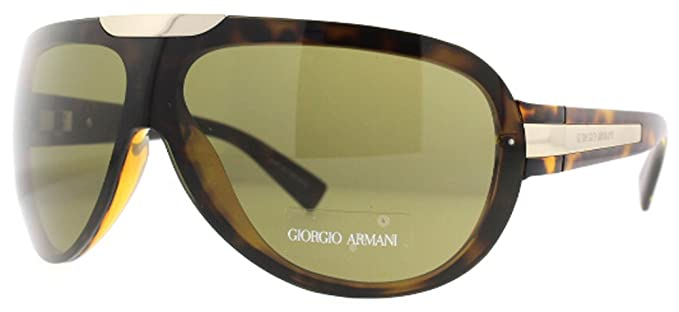 55867936b236 Image Unavailable. Image not available for. Colour: Giorgio Armani GA 595/S  V08 Havana Men's Aviator Sunglasses