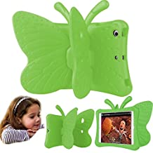 Eastchina® Non-toxic 3D Cartoon Light Weight EVA Shockproof Drop Proof Stand Case For iPad Air | iPad Air2 | iPad Pro 9.7 (iPad 5/6/Pro 9.7, Green)