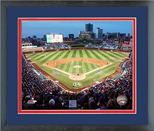 MLB Wrigley Field Chicago Cubs Stadium Photo (Size: 12.5