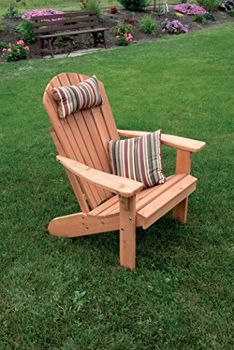 A & L Furniture 667C-UNFINISHED Fan Back Adirondack Chair, ()