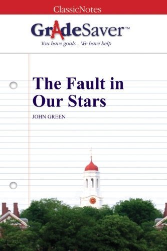 the fault in our stars study guide gradesaver rh gradesaver com Paper Towns Augustus Waters