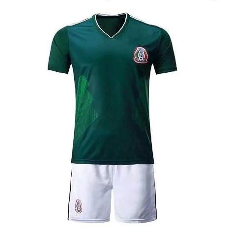 cc495e352 Viscustom 2018 Football Uniform Mexico Home Adult Children Teenager Jersey  Suit Training Team Clothing Fans Souvenir