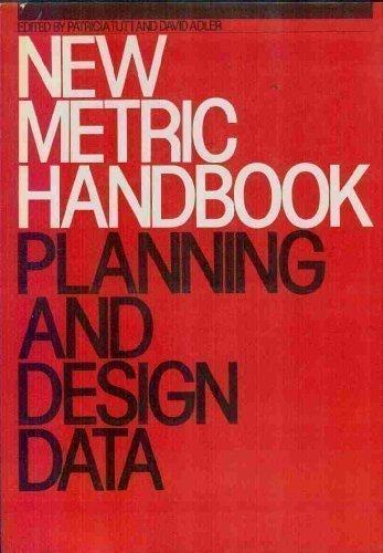 New Metric Handbook Planning And Design Data