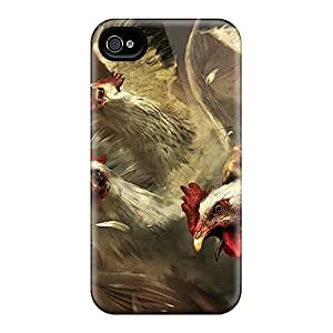Cases Covers For Iphone 6 Strong Protect Cases - Angry Rooster Design