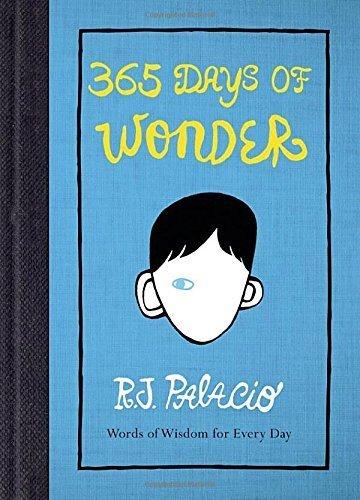 365 Days of Wonder by R. J. Palacio (2014-08-26)